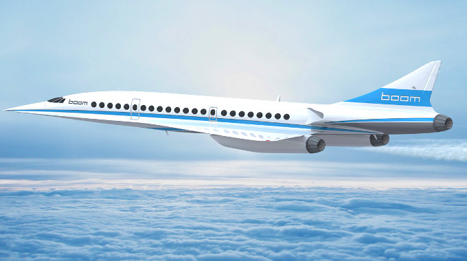 Supersonic Passenger Air Travel, Revived – Backed by Sir Richard Branson